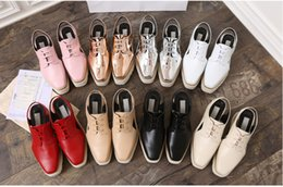 Wholesale nude wedges sandals - sandals,wholesale baby stella plartform shoes, 28 color leather wedge square toe shoes,hot sale height increasing star shoes ,beiger ,balck,