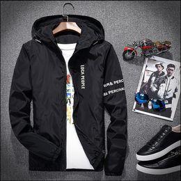 Wholesale Mens Wind Jackets - Palace Jacket mens jackets college windbreaker jacket men women streetwear hip hop softshell wind breaker y-3 harajuku jaqueta masculina