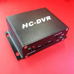 Wholesale Dvr Hdmi Output - CWH HC-DVR 720P MINI DVR Dual SD Card Memory Recording H.264 Compression Wide Dynamic Voltage DC8-28V Support HDMI Video Out Audio Output