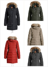 c2063ff19b 2017 Women Thin light Brand Down jacket WINTER PJS-BEAR Down   Parkas Big  coyote Fur Collar White goose down Outerwear   Coats WITH FUR HOOD