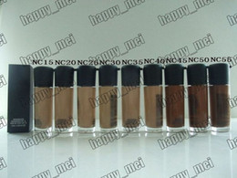 Wholesale Nc Foundations - Factory Direct DHL Free Shipping New Makeup Face MA35 NC Colors Series Matchmaster Foundation Liquid SPF15!35ml