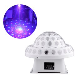 Cheap led control system - White LED Laser Projector 2in1 Laser Stage Lighting System DMX Control Lights Equipment with Auto Voice Activated for Dj Party Disco