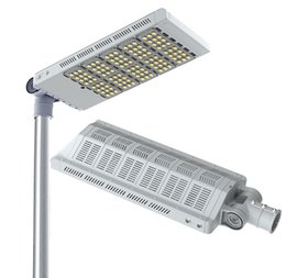 Wholesale Meanwell 12v - Rotatable Led street lights CREE BridgeLux 100W 150W 200W 250W 300W LED street lamp 130Lm w Meanwell powered UL Listed 5 Years Warranty
