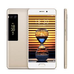 5.7 4g мобильные телефоны android онлайн-Оригинал Meizu Pro 7 Plus 4G LTE сотовый телефон 6 ГБ ОЗУ 64 ГБ 128 ГБ ПЗУ MTK Helio X30 Core Core Android 5,7-дюймовый 16-мегапиксельной идентификацией отпечатков пальцев мобильного телефона