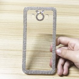 Wholesale Galaxy Ace Bling - Luxury Bling Crystal Rhinestone Back Case For Samsung Galaxy J1 ACE J2 J3 2016 Coque Women Diamond Case Cover J5 J7 A510 A510F Fundas Cases