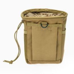 Wholesale Molle Waist - 600D nylon Taktische Dump Pouch Airsoft Kriegsspiel Jagd Magazin AMMO Recovery Molle tasche