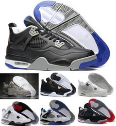 Wholesale Cotton Lace Buy - New Retro 4 Basketball Shoes Sports Sneakers Buy 2017 Men Women Retros 4s Man Zapatillas Authentic Original Real Replicas