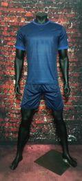 Wholesale Galaxy Uniforms - 2017 2018 LA Galaxy away Dark Blue soccer uniform thai quality short sleeve football jerseys men's athletic outdoor sports t shirt
