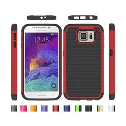 Wholesale Galaxy S4 Silicone - Rugged Impact Hybrid Case Cover for iPhone 5 5S 6 Plus Samsung GALAXY S3 S4 Mini S5 S6 edge Note 3 4 Silicone + Hard PC Heavy Duty Mix model