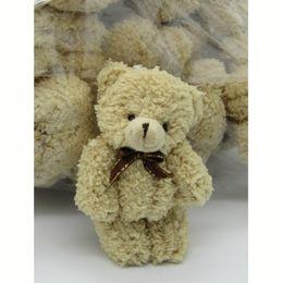 2019 bambole decorative all'ingrosso 40PCS / LOT Kawaii Small Joint Teddy Bears Peluche farcito con Bow Tie12CM Giocattolo Teddy-Bear Bear Ted Bears Giocattoli peluche Wedding 002