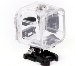 Wholesale Gopro Hero Dive Housing - Underwater 45m Waterproof Protective Housing Case Cover Frame Base for GoPro Hero 4 Session Outdoor Sports Camera MOQ:10PCS