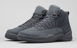 Wholesale Retro Floor - New Arrival Air Retro 12 PSNY authentic Basketball shoes for men Drop shipping Sneakers come with Original box 130690-003