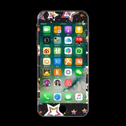 Wholesale Iphone Cool Sticker - Cool and chep attractive custom luminous sticker for phone