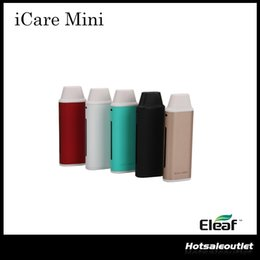 Wholesale Authentic Eleaf iCare Mini Kit ml Internal Tank Airflow System With mah Battery Intuitive Three Color LEDs ohm IC Head
