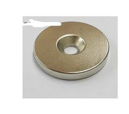 Wholesale Disc Magnet Hole - ring 35mm x 5mm Hole:6mm Disc Rare Earth Neo Neodymium Strong fridge Magnets ndfeb Neodymium magnets