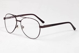 Wholesale Plastic Aviator Glasses - 2017 Brand Designer Sunglasses For Women Men Aviator Glasses High Quality Unisex Full Half Rimless With Boxes oculos de sol
