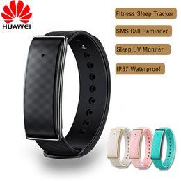 Wholesale-Original HUAWEI Honor A1 Smart Bracelet Calorie UV Monitor Smartband Sleep Tracker Fitness Pedometer Wristband For Android IOS от