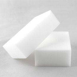 Волшебная чистая губка онлайн-Магия губка Белый меламин Губка ластик для клавиатуры автомобиля кухня ванная комната очистки меламин чистой высокой Desity 10x6x2cm