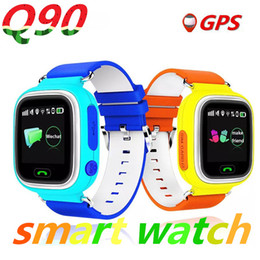 Wholesale Touch Screen Watched For Kids - Q90 GPS smart watch baby watch with Wifi touch screen SOS Call Location DeviceTracker for Kid Safe Anti-Lost Monitor