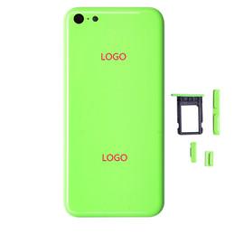 Haute qualité marque nouvelle pièce de rechange complet logement couvercle de la batterie arrière milieu cadre en métal logement arrière pour iPhone 5C livraison gratuite ? partir de fabricateur