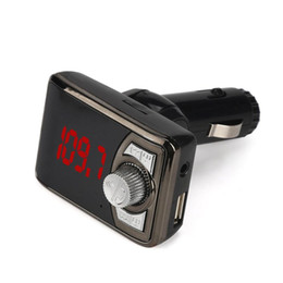 Wholesale Disk Watch - Wholesale- Car-Mp3 with LCD Screen Bluetooth Car Kit MP3 Player Wireless FM USB TF SD Remote Supports USB disk LED display