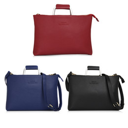Wholesale Bag For Laptop Genuine Leather - Jackpark Genuine Leather Laptop bag notebook casual bag for Macbook Air 13.3 handbag shoulder business bag AAA quality for man and woman