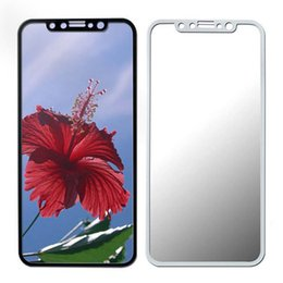 Wholesale Premium Covers - For iphone x Tempered Glass 2.5D Curved Edge Full Cover Premium Screen protectors Soft Edge Red Screen Protector Film For Iphone x