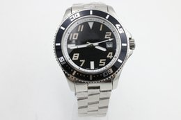 Wholesale Luxury Watches Superocean - Top saLE New brand black dial mens watch automatic movement superocean mechanical stainless steel high quality men watches wristwatch