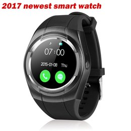 Wholesale Automatic Portuguese - Smart watch multi-language mobile phone watch waterproof automatic voice dial GSM SIM TF phone FM radio music watch pedometer camera alarm