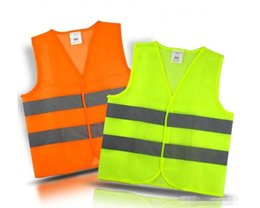 Wholesale Yellow Reflective Vest - High Visibility Working Safety Construction Vest Warning Reflective traffic working Vest Green Reflective Safety Clothing