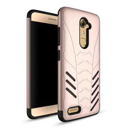 Wholesale Zte Phones Price - For ZTE Max Pro 2 Z986 Factory Price New Colorful Durable Defender Hybrid Smart Phone Case Tough Armor Cover Retail Packaging Opp Bag