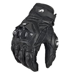Wholesale Motorcycle Bmx Bike - Hot selling Cool motorcycle gloves moto racing gloves knight leather ride bike driving BMX ATV MTB bicycle cycling Motorbike