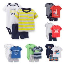 Wholesale Drop Shipping Wholesalers Baby Clothing - Wholesale- TZ-255 drop shipping baby girl boy clothes newborn baby clothes boys girls clothing set 3pcs or 2pcs set retail