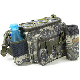 Wholesale Man Tactical Bag - Wholesale- Tactical Picnic Shoulder Bag Molle EDC Camouflage Belt Pouch Multifunctional For Men Camping Hiking Fishing Phone Pouch