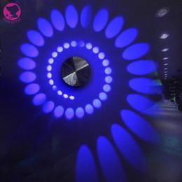 Wholesale High Power Led Drop Lights - Wholesale- 3W LED Wall Lamp Modern High Power Spot Light Sconce Lighting AC85-265V ROHS Bed headbar Light
