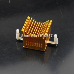 Wholesale Computer Ram Wholesale - Wholesale- 2pieces lot 2pcs IC Golden Chip CPU Computer North Bridge Cooling Heatsink