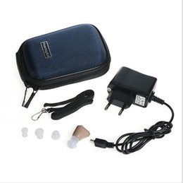 Wholesale Mini Hearing - Small and Convenient K-88 Rechargeable Digital In Ear Hearing Aid Adjustable Sound Amplifier Mini pocket Hearing Aids