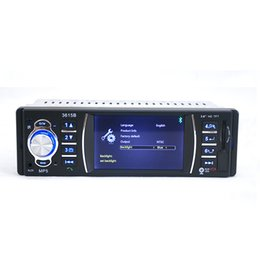 """Wholesale Car Tft Bluetooth - 3.6"""" TFT Screen 12V Bluetooth V2.0 Car Radio Audio Stereo support Rear View Camera MP5 USB SD AUX In Player with Remote Control"""