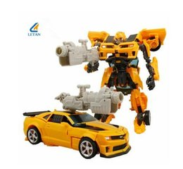 Wholesale Small Car Cooler - Small!!!!So cool!Transformation Toy Deformation Robot Cars Action Figures Classic Toys For Child Brithday Gift Christmas gifts # H602