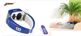 Wholesale Cervical Treatment - Free shipping Portable cervical vertebra massage instrument cervical treatment instrument remote control belt