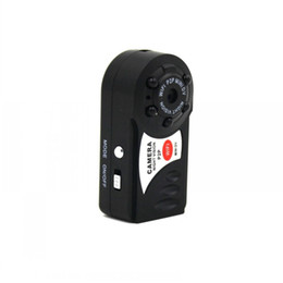 Wholesale Outdoor Motion Detection Camera - Q7 Mini Wifi DVR Wireless IP Camcorder Video Recorder Camera Infrared Night Vision Camera Motion Detection Built-in Microphone no memerycard