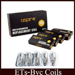 Wholesale Ce5 Atomizer Coil - BVC Coils Heads For CE5 ET CE5-S ET-S BDC Atomizers Vivi Nova Mini Vivi Nova BVC Replacement Coil free DHL