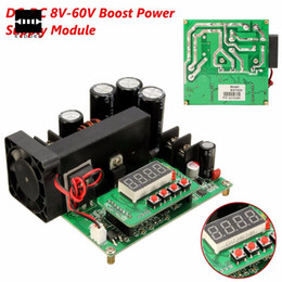 Wholesale Voltage Boost Regulator - DC-DC BST900 0-15A 8-60V To 10-120V Boost Power Supply Module CC CV LED Driver 11 x 10 x 4.2 cm New Electric Modules