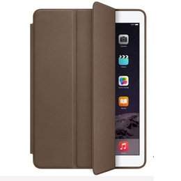 Wholesale Ipad Full Body - super slim full body protection smart cover leather case for ipad mini 2 3 4 air air 2 pro 9.7
