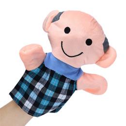 Wholesale Baby Best Sellers - Wholesale- Best seller comfortable 18CM Baby Kids Home Family Finger Infant Kid Toy Plush Toys Christmas Gift Regalo de Navidad Nov10