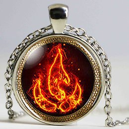 Wholesale Avatar Legend Korra - Steampunk Necklace US Movie Avatar The Last Airbender Fire Nation Legend of Korra Pendant 1pcslot mens jewelry dr who chain
