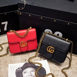 Wholesale Womens Body - Fashion Womens design Chain Detail Cross Body Bag Ladies Shoulder bag PU clutch bag luxury evening bags