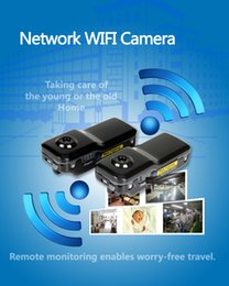 Wholesale Security Box Camera Wifi - Wifi IP Wireless Network Remote Camera Security Nanny Camera Video Recorder MD81 MD81S With Retail Box 30pcs Free DHL