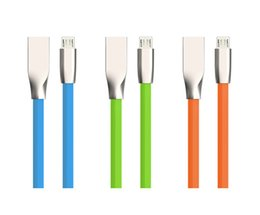 Wholesale Iphone C Aluminum - 3D Zinc Alloy Aluminum Metal Diamond-shaped Rhombus 1M 3FT USB Cable Fast Charging USB Data Sync Cable Strong for Samsung S7 S6 HTC LG