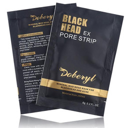 Wholesale Care Minerals - Doberyl Black Head EX Pore Strip Face Care Nose Blackhead Remover Mask Minerals Pore Cleaner 6g